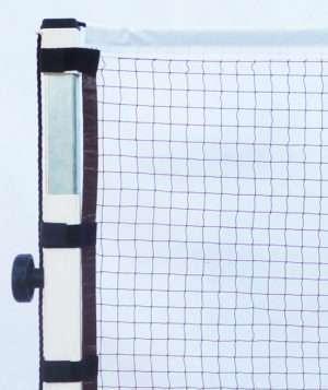 Filet de badminton de compétition avec velcro écoplas