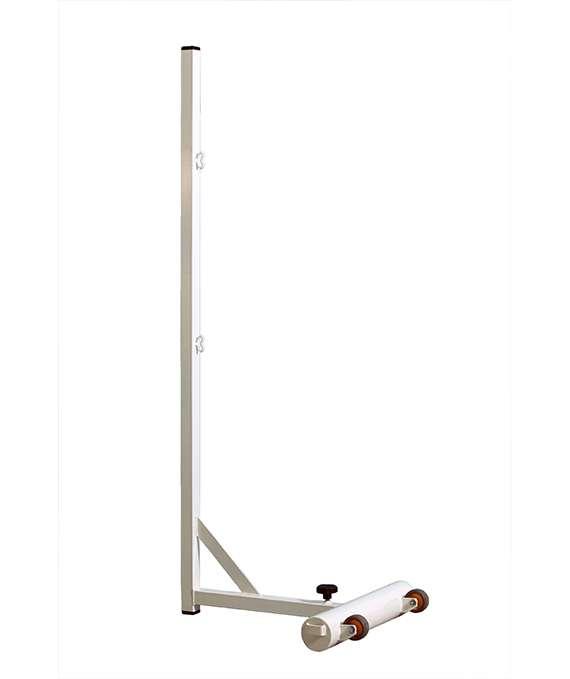 Poteaux de badminton transportables en acier écoplas