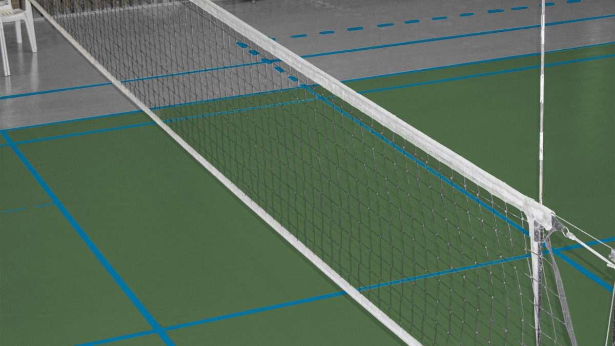 Rénovation d'un terrain de volleyballl