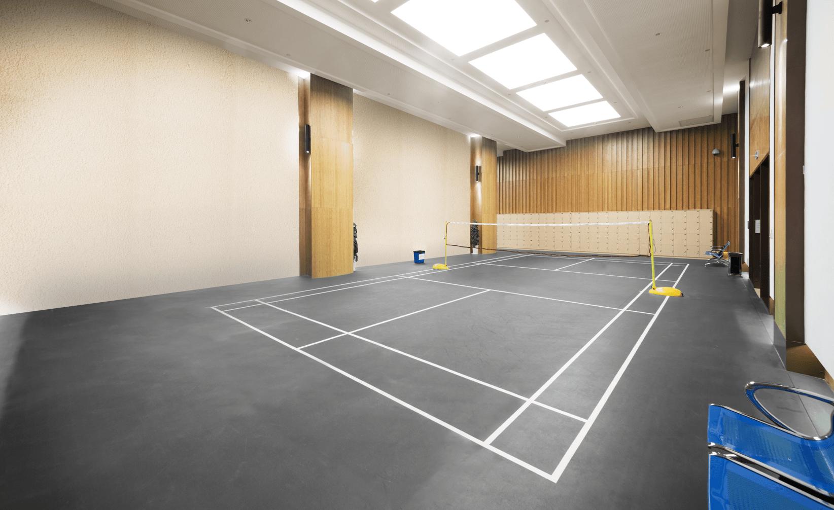 Simulateur de couleurs terrain de volleyball