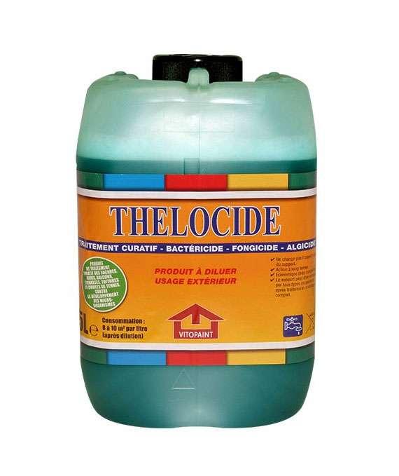 Produit de traitement bactéricide, fongicide, algicide THÉLOCIDE écoplas