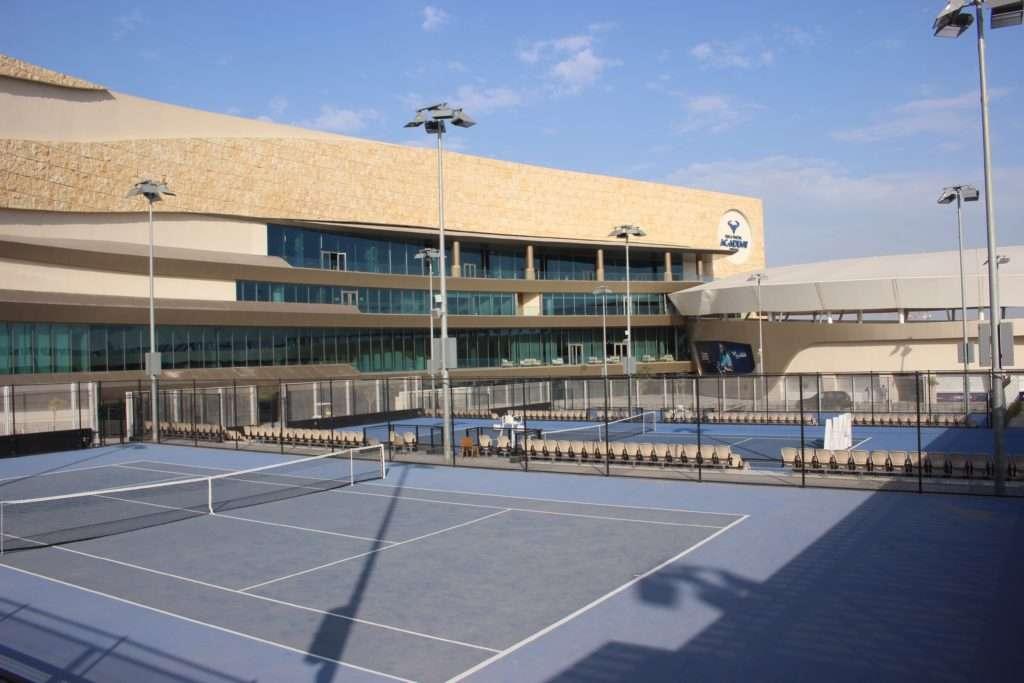 Courts extérieurs de la Rafael Nadal Academy