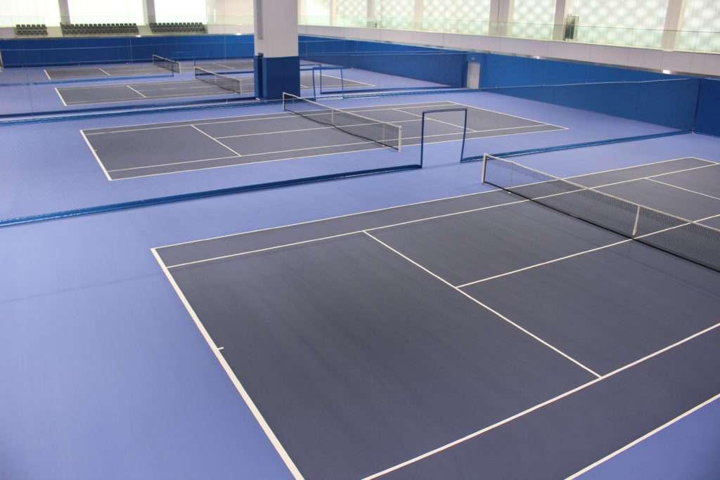 Courts intérieurs de la Rafael Nadal Academy